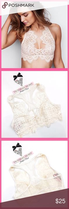 •Victoria's Secret• Laced up dream angels bralette V I C T O R I A 'S ✦ S E C R E T    ❈ Condition: New with tags  ❈ Reasonable Offers Always Welcome!  ❈ Fast shipping Monday⇢Friday  Same/Next day after your purchase  ❈ Questions? Please comment below,  I will be more than happy to assist you ☻  ❈ Bundles are always encouraged to save on shipping!   ❈Thank you for stopping by! Hope to have you as a customer or returning customer   xo ღ Jennifer Victoria's Secret Intimates & Sleepwear Bras