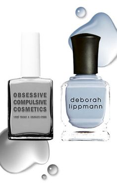 A cool nail polish combo if you're a bridesmaid in a wedding @camillestyles