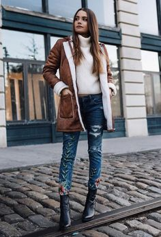 Winter outfits do not have to be boring