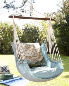 Floral Chair Swing