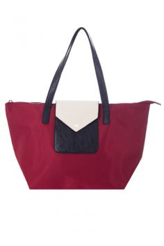 Bags :: Poppy Ultra-Light Shopper Red - The Redletter Club $89.95