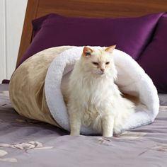 Paws Life Cat Crinkle Cave - BedBathandBeyond.com
