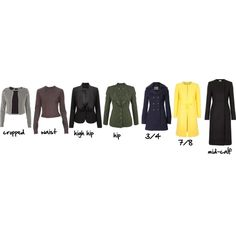jacket length glossary by imogenl on Polyvore featuring mode, STELLA McCARTNEY, RED Valentino, McQ by Alexander McQueen, Vero Moda, French Connection, Edun, H&M and gloossary