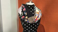 Studio 5 - This Season's Best Scarf   patchwork infinity scarf made with knits.  $5. & 20 min. of sewing......   video