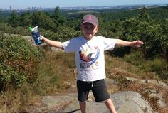 Easy, Exciting Blue Hills' Hikes with Kids