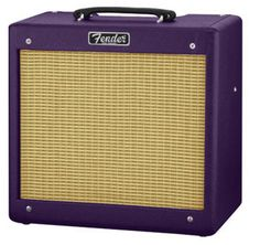 """Fender Hot Rod III Pro Junior® """"Plum Crazy"""" FSR Guitar Amplifier"""
