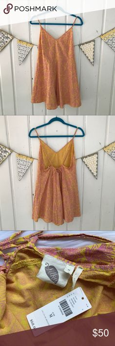 Anthropologie Saffron Romper by Lilka Stay cool this Summer in this easy, breezy romper from Anthropologie. Just throw it on, add some strappy sandals, and go! Look pulled together with minimal effort. Brand new with tags. Anthropologie Pants Jumpsuits & Rompers