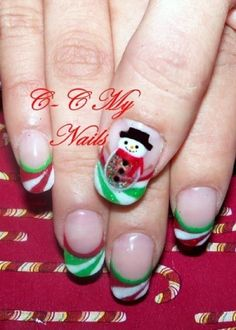 Nail art designs for christmas by 1969ChevyBaby