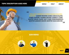 11 free tabbed navigation elearning templates designed with free industrial themed powerpoint template for your next articulate studio or articulate storyline project toneelgroepblik Choice Image