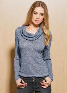Gostei deste produto do Portal Posthaus! Blusa Feminina em Fio Lurex