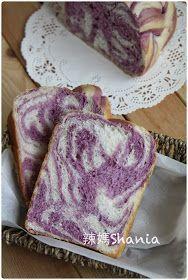 麵包機 - 紫薯雙色吐司