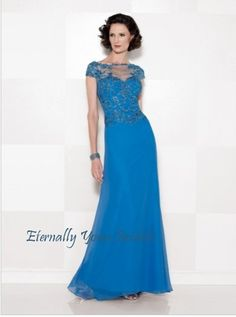199.99$  Buy now - http://virva.justgood.pw/vig/item.php?t=9rouzzs5045 - A-Line Bateau Floor Length Chiffon Evening / Wedding Party Dress