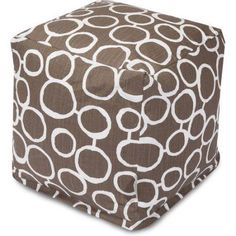 Majestic Home Goods Fusion Cube, Brown