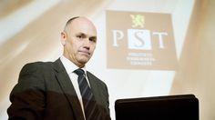 KRITISK:  Da konstituert PST-sjef Per Berg la fram en ugradert versjon av PSTs evalueringsrapport om 22. juli, var kritisk byttet ut med anstrengt. REUTERS/Fredrik Varfjell/Scanpix