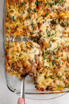 Chili Relleno Casserole - Easy Peasy Meals