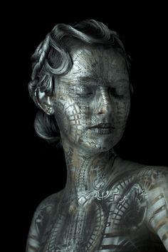Metropolis II - body art by eyelevelstudio