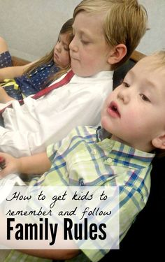 Help your kids remember and follow the family rules, with this simple, fun trick!