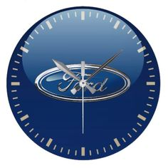Ford Emblem - 3D Badge Special Edition Large Clock