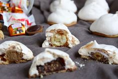 Feenküsse Christmas Biscuits, Relleno, Doughnut, Camembert Cheese, Christmas Time, Tart, Muffins, Low Carb, Sweets