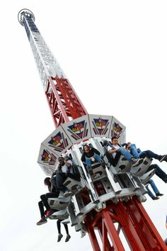Flea Fall Drop Tower now open in Traders Village Grand Prairie! Grand Prairie Texas, Amusement Park Rides, Free To Use Images, Just Shop, Fleas, High Quality Images, Worthless, Fun, Tower