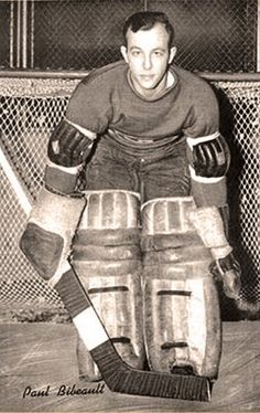 Habs Goalies: The Early To Mid - Bibeault played nearly two full years with Montreal and led the NHL with 50 appearances in Hockey Goalie, Hockey Players, Ice Hockey, Montreal Canadiens, Nhl, Western World, Best Player, Captain America, 1940s