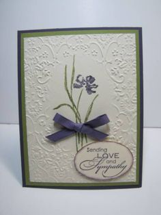 Sympathy for Mary by NellieKC - Cards and Paper Crafts at Splitcoaststampers