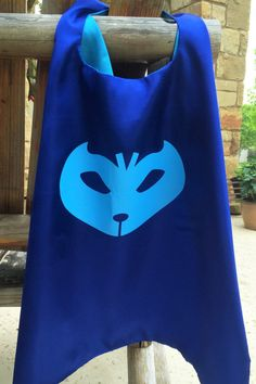 PJ masks cape and mask sets This listing includes 1 cape and mask set. You also have the option to add a name in the drop down menu.. Select personalized character. Available characters: Owlette - Red Gekko - Green Catboy - Blue You also have the option to add a name to the cape. Please