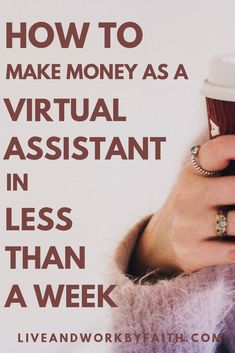 Learn how to make money as a virtual assistant in 9 easy steps. Learn how to make money as a virtual assistant in 9 easy steps. The post Learn how to make money as a virtual assistant in 9 easy steps. Earn Money From Home, How To Make Money, How To Become, Virtual Assistant Services, Online Assistant, Start Ups, Be Your Own Boss, Online Work, Online College