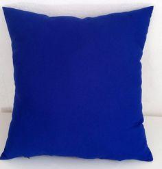 Capa para Almofada azul bic