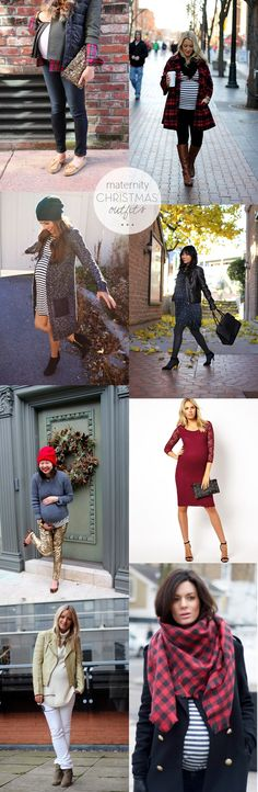 Maternity Outfits for Christmas