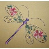 I found this Embroidery Design for only: $22.50 on aStitchaHalf.com! Embroider dragonflies on your linen, pillowcases and home decor items for that old fashion look.You receive:20 Design (10 for the 4*4 hoop and 10 for the 5*7 hoop)