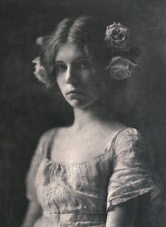 """This is just outside the 19th century but it was so beautiful I just had to share. maudelynn: """" Rosa Rosarum, by Mathilde Weil, c.1901 """""""