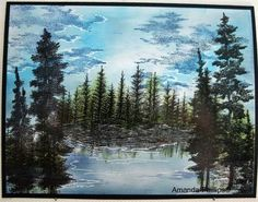 Forest for the trees by Amanda Phillips - Cards and Paper Crafts at Splitcoaststampers