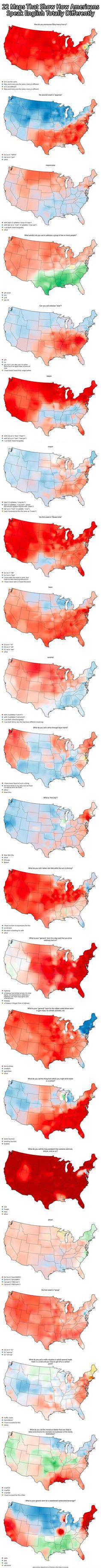 How Americans Speak English