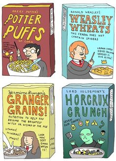 Harry Potter Cereals!