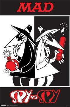 Spy vs Spy Poster