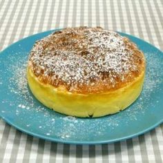 Japansk ostekake med 3 ingredienser Pancakes, Food And Drink, Baking, Breakfast, Morning Coffee, Bakken, Pancake, Backen, Sweets