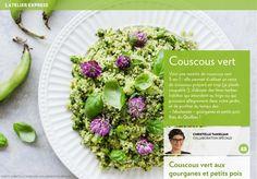 Couscous vert - LaPresse+