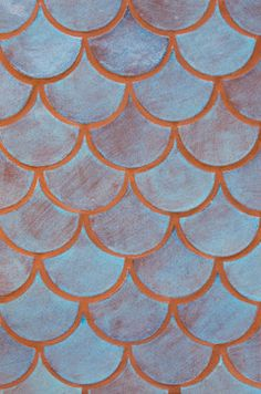 Blue Bell Moroccan Fish Scales - Mediterranean - Tile - Minneapolis - Mercury Mosaics and Tile