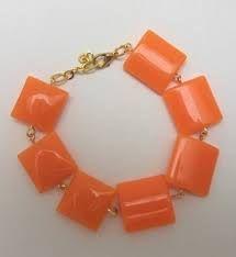 collares , aretes pulseras color naranja en imagenes - Buscar con Google