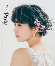 Wedding Hair And Makeup, Hair Makeup, Very Short Hair, Hair Images, Wedding Coordinator, Flowers In Hair, Wedding Hairstyles, Short Hair Styles, Wedding Inspiration