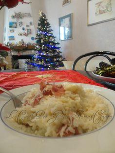 Risotto scamorza e prosciutto!! | Ricetta primi piatti glutin free