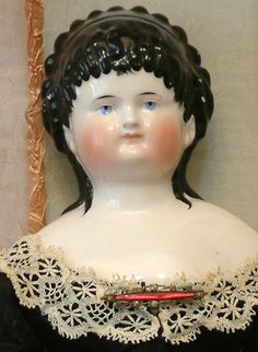 Currier and Ives Antique German Doll.