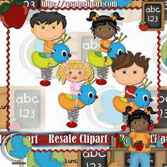 Playground Kids 3 #Clipart