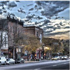 Historic Old Colorado City in Colorado Springs, CO