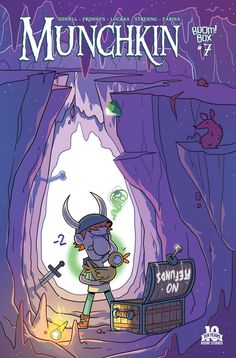 Preview: Munchkin #7,   Munchkin #7 Story: Tom Siddell Art: Mike Luckas Cover: Rian Sygh Publisher: BOOM! Studios/BOOM! Box Publication Date: July 29th, 2015 Price:...,  #All-Comic #All-ComicPreviews #BOOM!Box #Boom!Studios #Comics #MikeLuckas #MUNCHKIN #Previews #RianSygh #TomSiddell