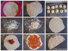 Mijn mixed kitchen: Lahmacun (zelfgemaakte Turkse pizza) Iftar, Fish Recipes, Cheese, Vegan, Chicken, Cooking, Breakfast, Desserts, Ramadan