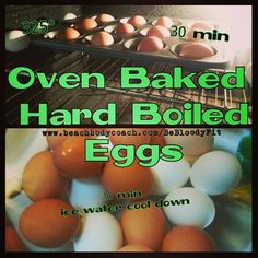 Sharing my favorite way to make hard-boiled eggs...you're welcome;)  I found recipe on here a few years ago and love passing it along.   So easy and OMG the best tasting hard-boiled eggs!  Give it a try and let me know.  Cheers to quick, healthy and easy meals;) xo  http://unsophisticook.com/hard-boiled-eggs/  **part of food prep