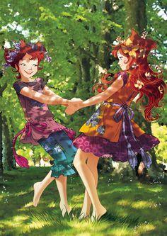 Periwinkle sisters