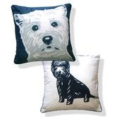 Found it at AllModern - Doggie Style Reversible West Highland Terrier Pillow
